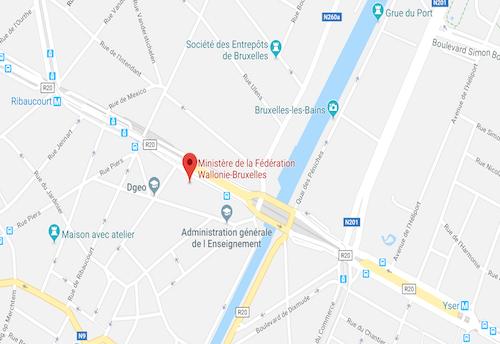 Nos salles de formation à Bruxelles