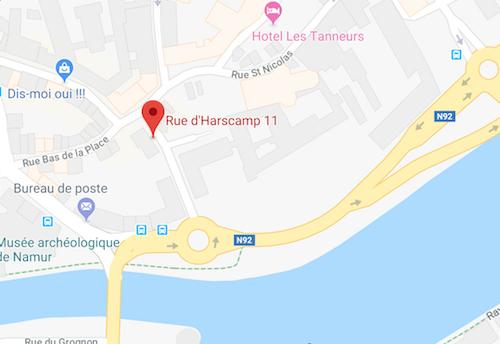 Nos bureaux à Namur